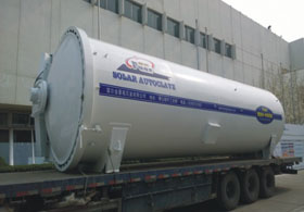 Loading operation for autoclave