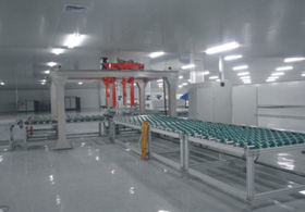 Solar PV glass production line